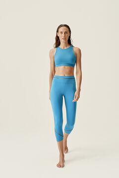 Womensecret Conjunto de top y legging Tamar Parisian Blue