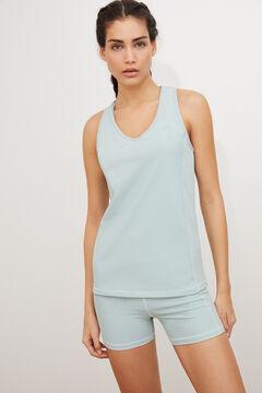 Womensecret Conjunto camiseta sin mangas y short