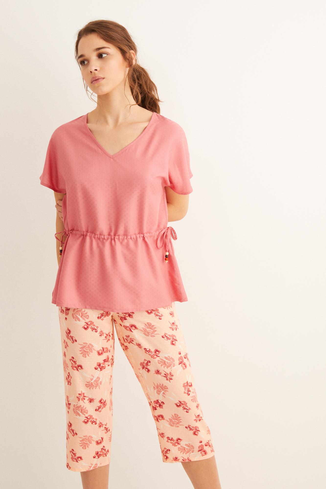 Pijama pantalón capri | Pijamas largos | Women'secret