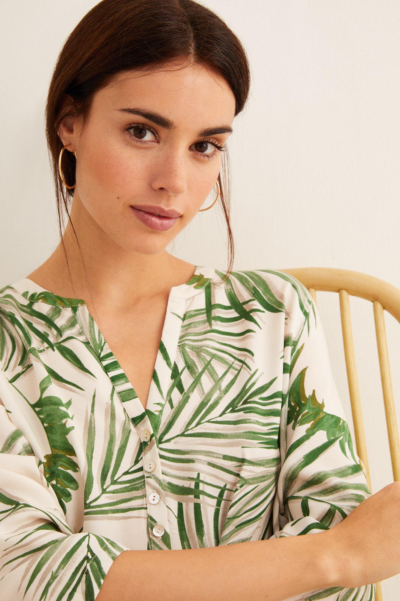 Camisola estampada | Camisones | Women'secret