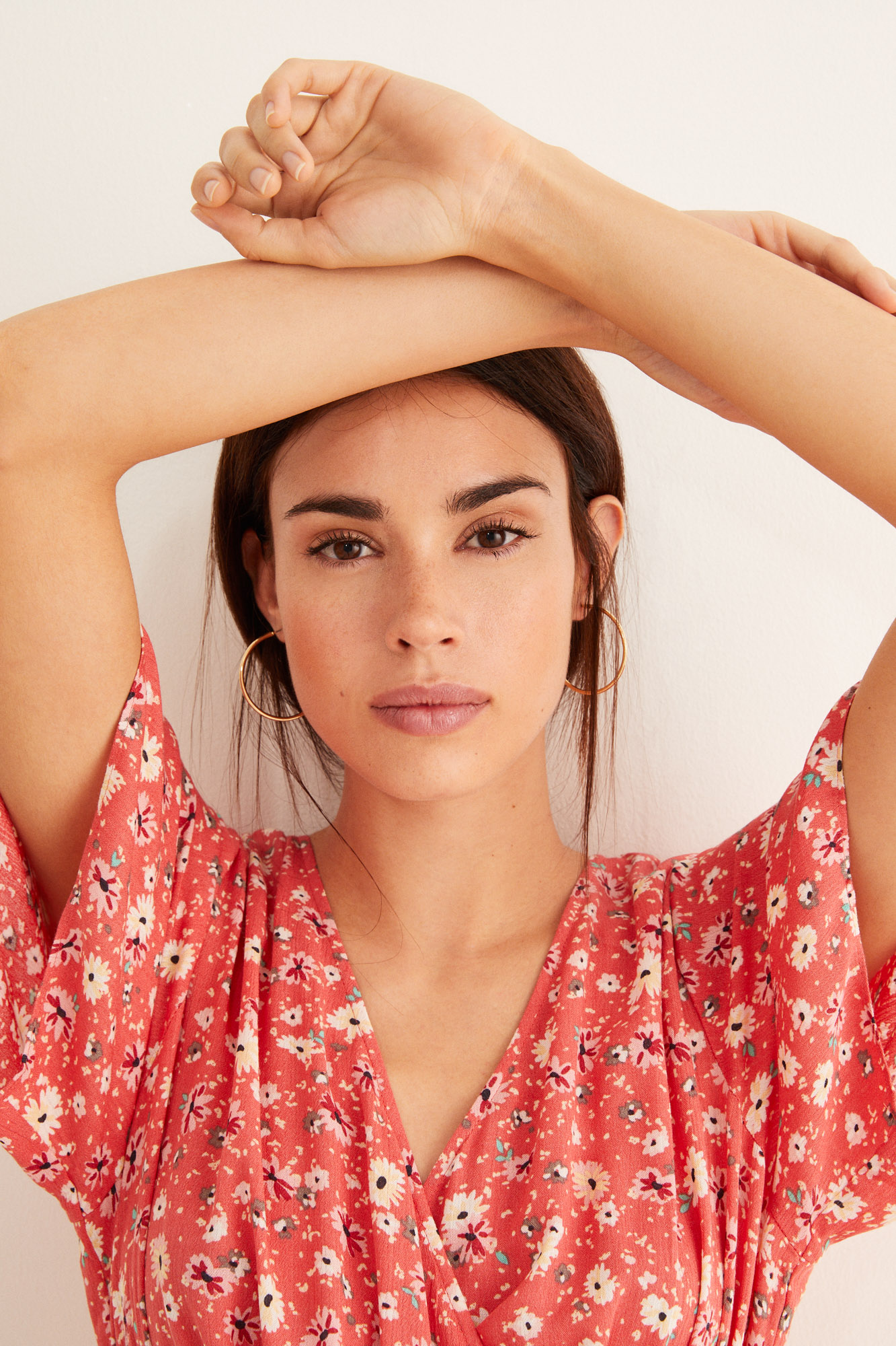Vestido largo estampado | Beachwear | Women'secret