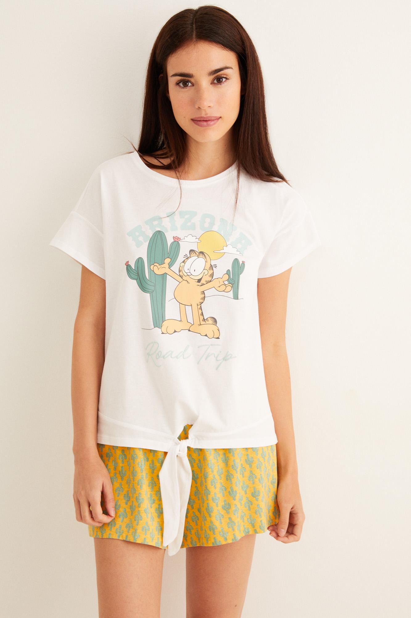 Pijama corto Garfield 'Arizona'   Pijamas cortos   Women'secret