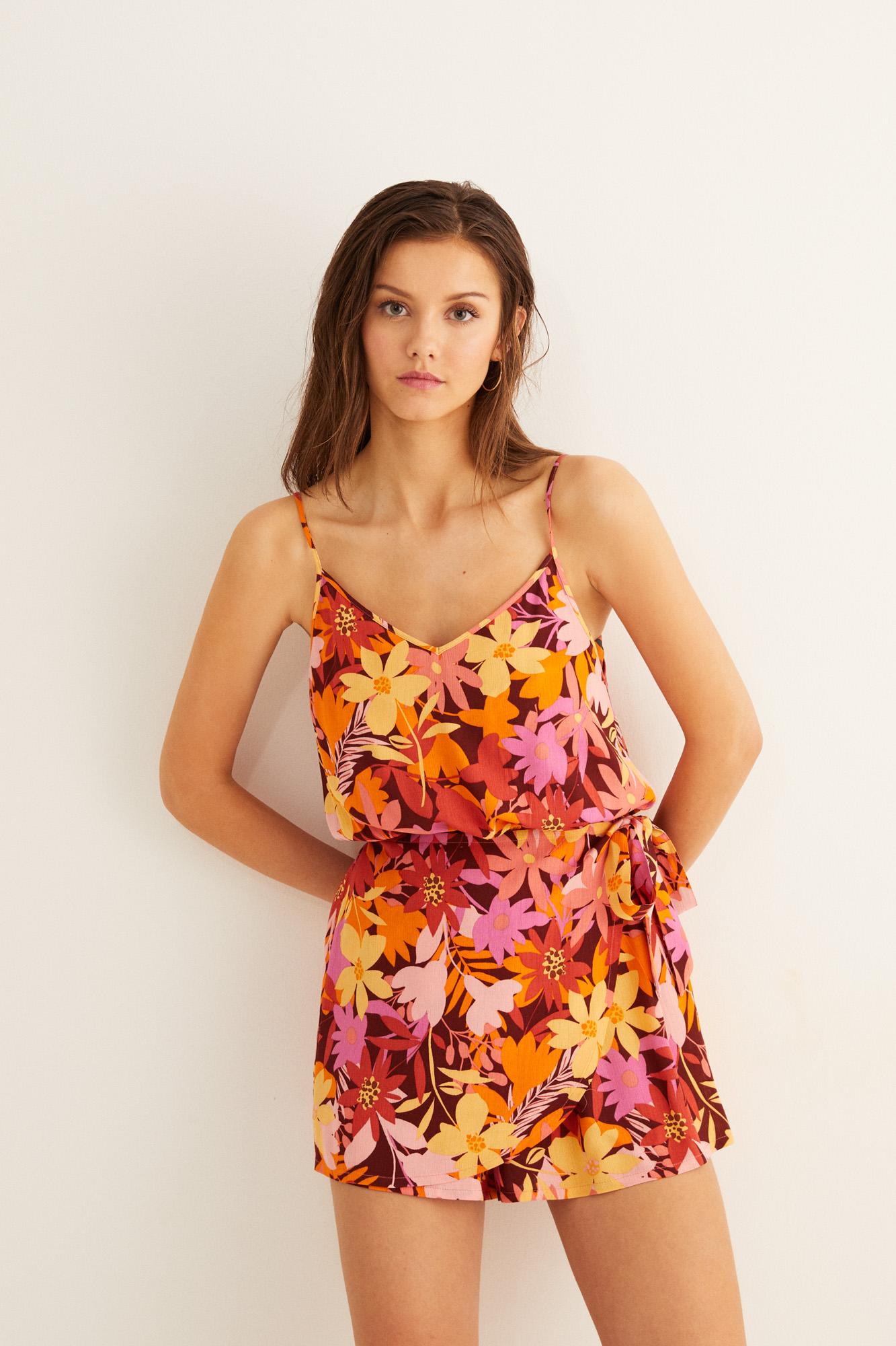 Mono corto flores   Beachwear   Women'secret