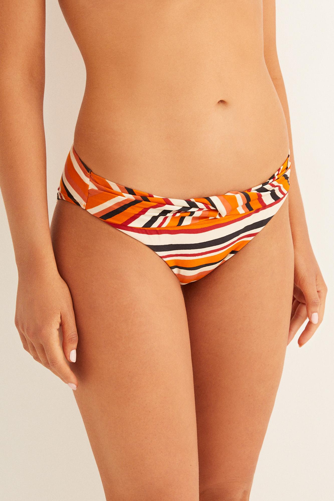 Braga bikini rayas multicolor   Bikinis   Women'secret