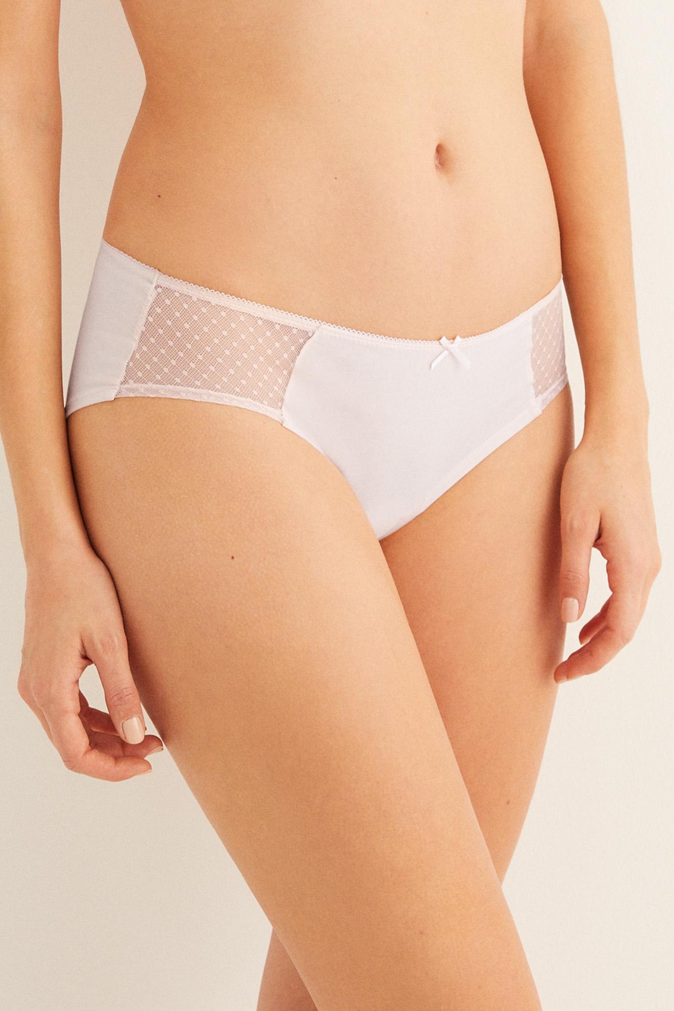 Braguita culotte algodón   Culottes   Women'secret