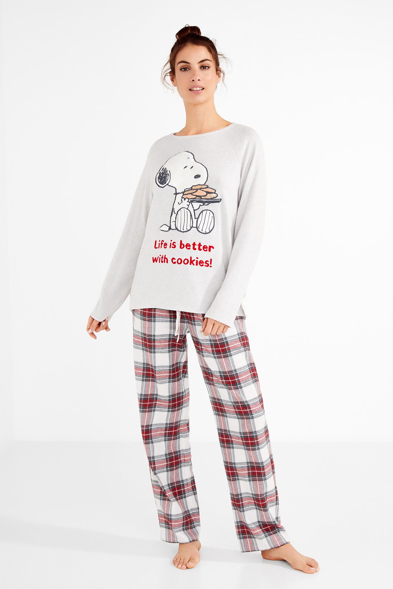 5caa92d509 Long Snoopy pyjamas