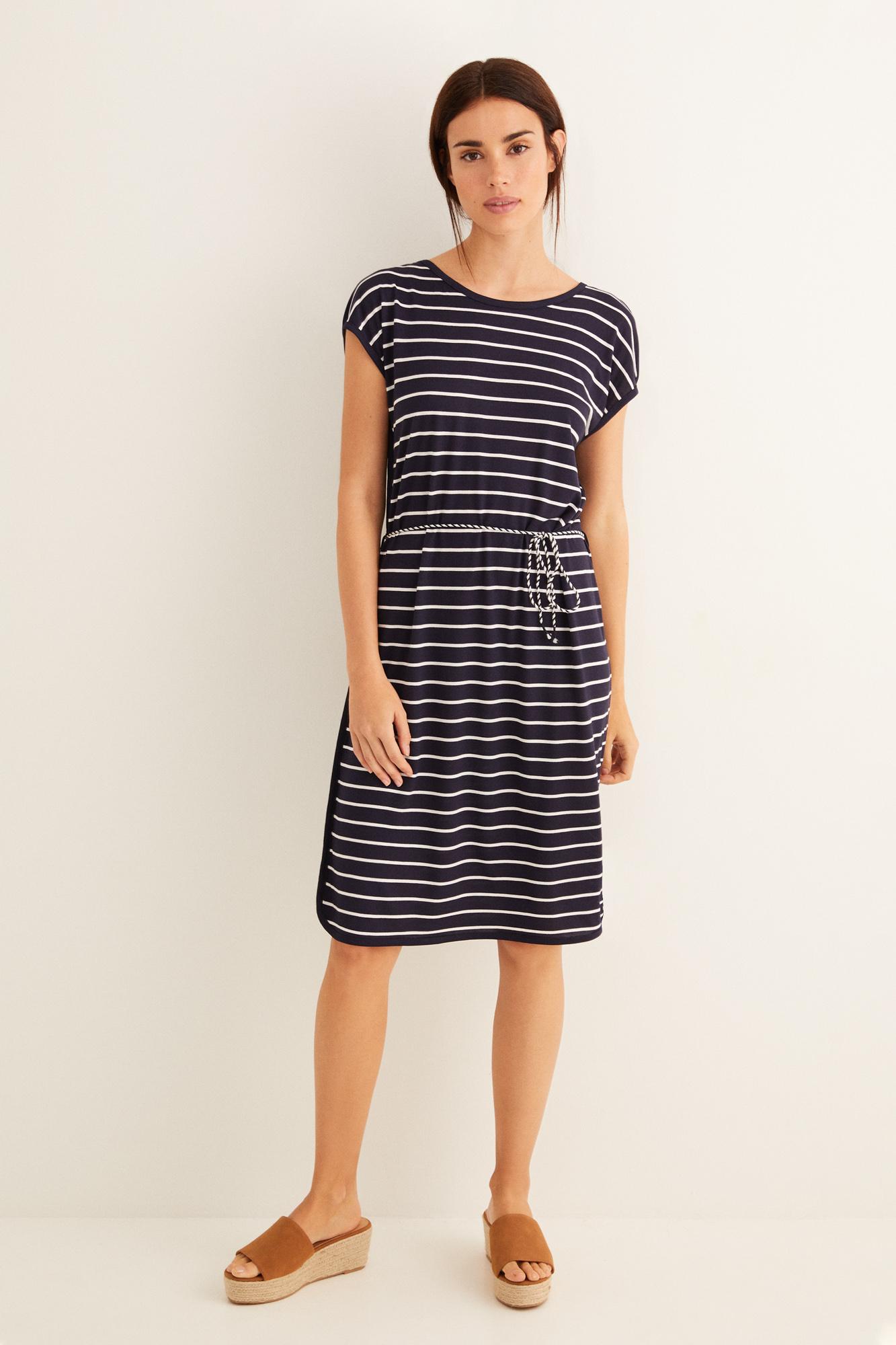 Vestido navy cinturón | Beachwear | Women'secret