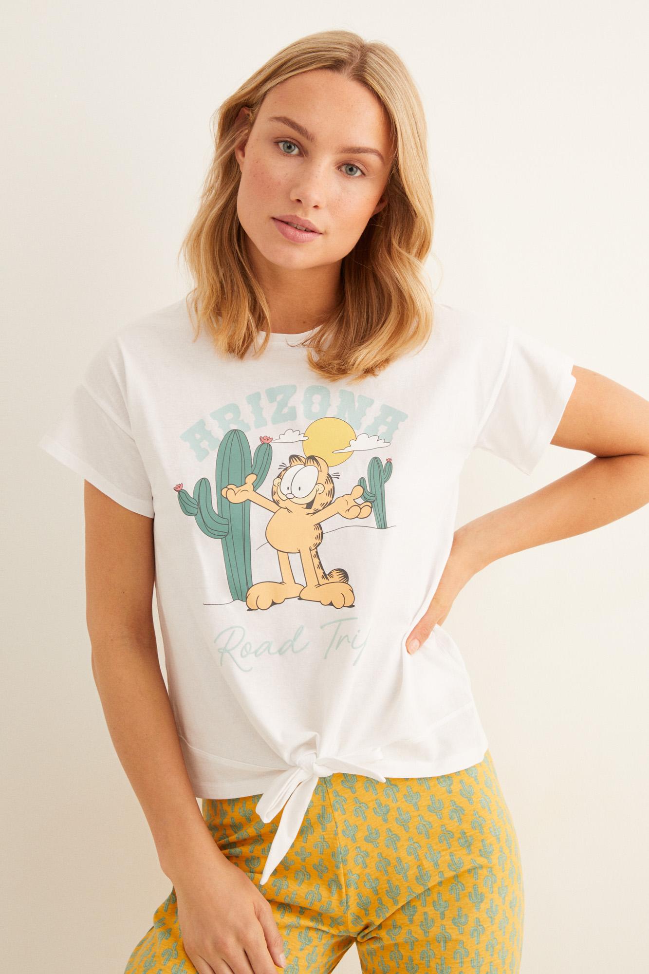 Pijama largo Garfield 'Arizona'   Pijamas largos   Women'secret